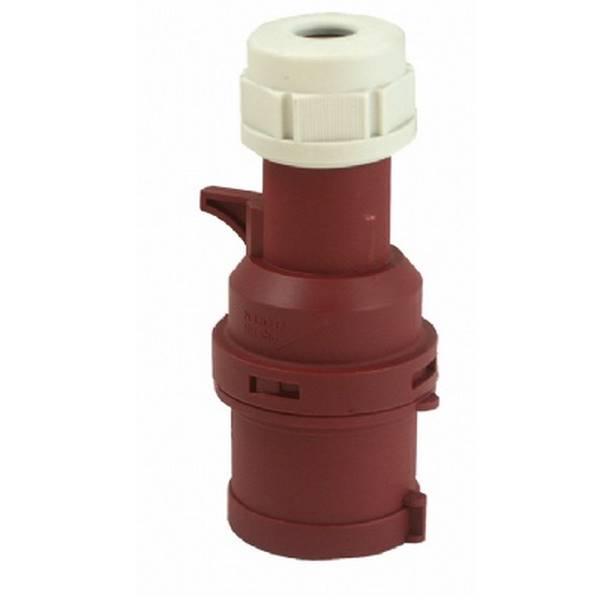415V 3P + E 32A Industrial Plug IP44