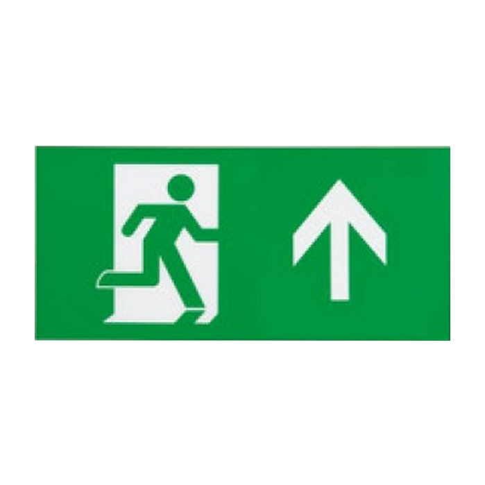 Ansell Eagle 3-in1 LED Exit Sign Arrow Up Legend