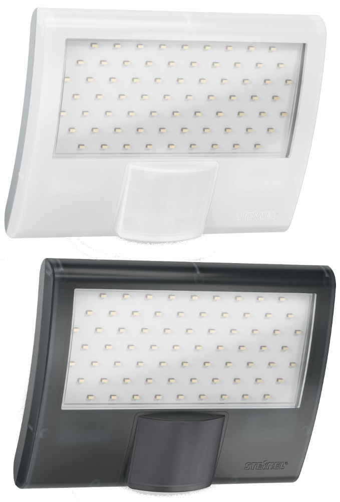 XLED Curved Compact PIR LED Floodlight
