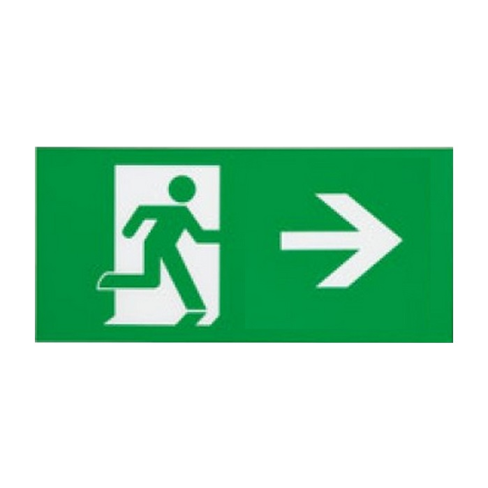 Ansell Eagle 3-in1 LED Exit Sign Arrow Left and Right Legend