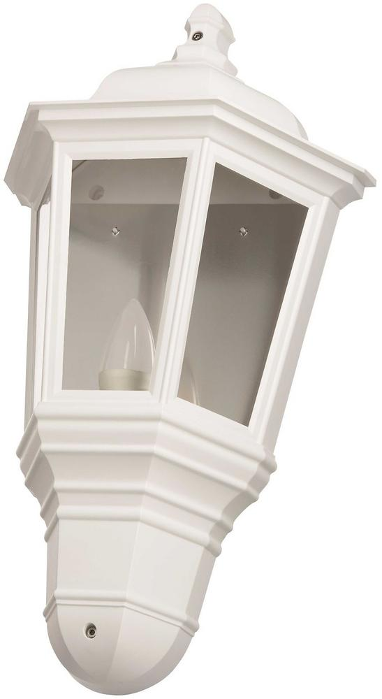 Timeguard CLLEDH43WH White LED Half Carriage Lantern c/w 4w LED Candle Lamp