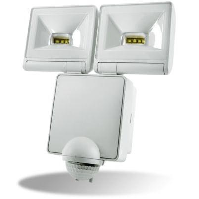 Timeguard LED200PIRWH Twin LED PIR Floodlight White
