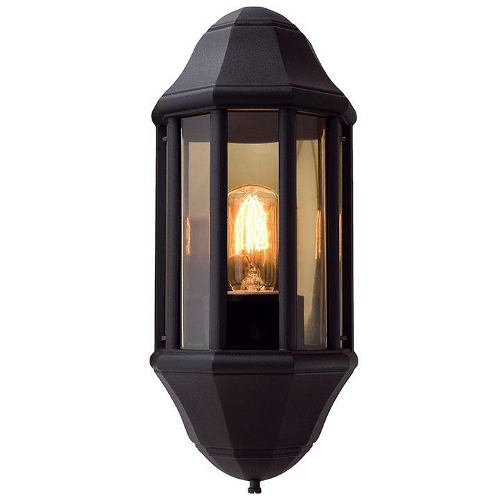 Ansell Sonate E27 Half Lantern Black