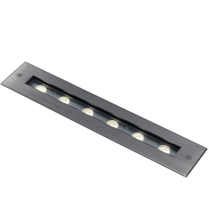 Ansell Phantom LED Inground Uplight/ Recessed Wall Light 8W Stainless Steel 4000K
