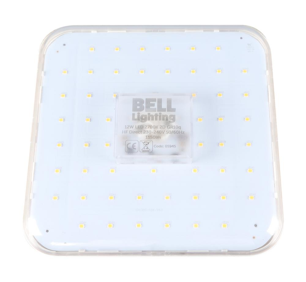 BELL Lighting Pro LED 2D HF Direct Lamp 4pin Warm or Cool White