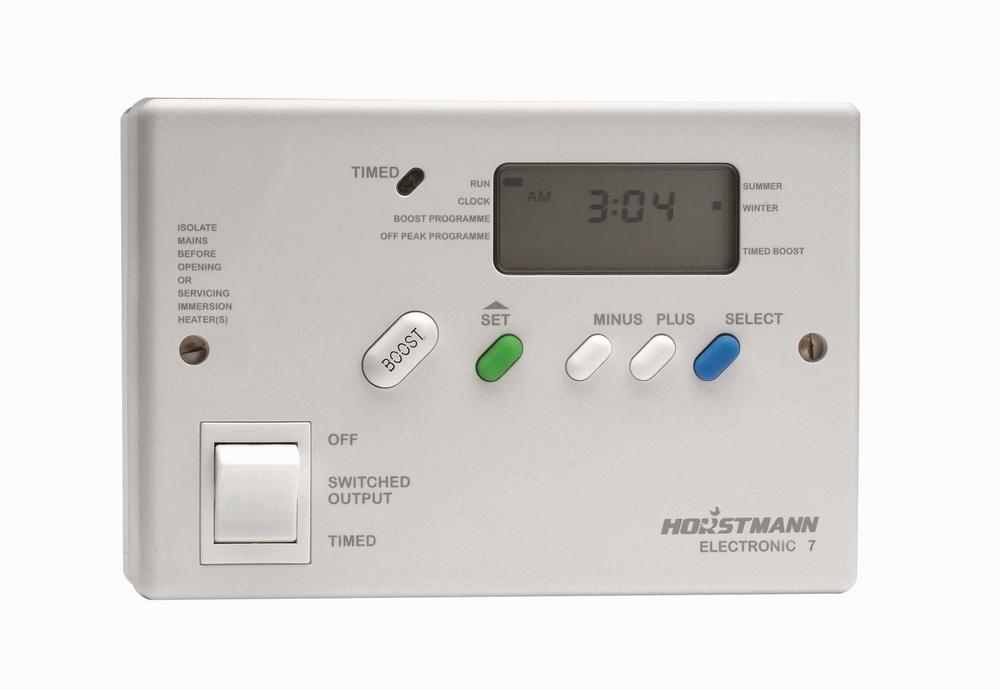 Hortsmann Electronic7 Immersion Heater Economy 7 Time