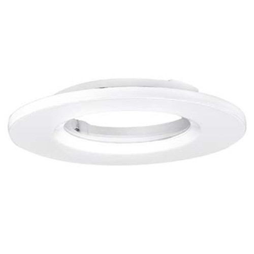 Aurora IP65 88mm m7/m5 Round Polycarbonate Bezel White