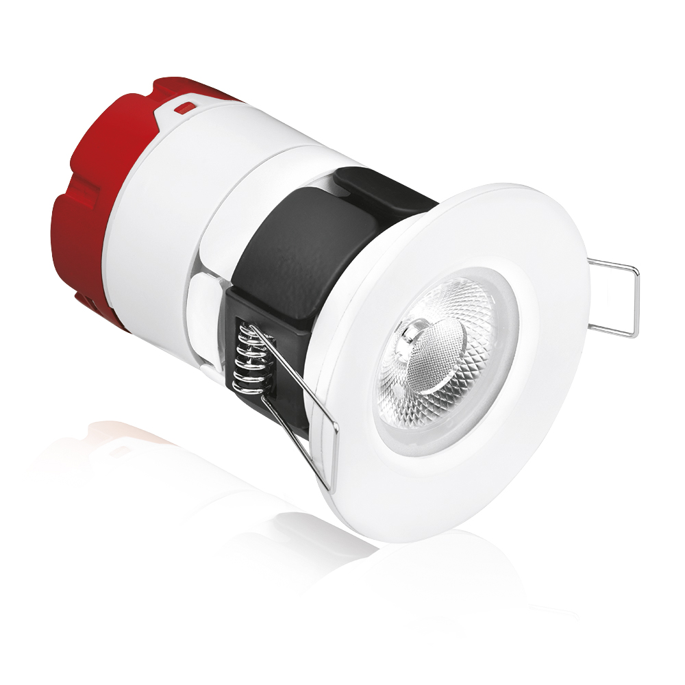 Aurora 240V mPRO Integrated Fixed Fire Rated Downlight