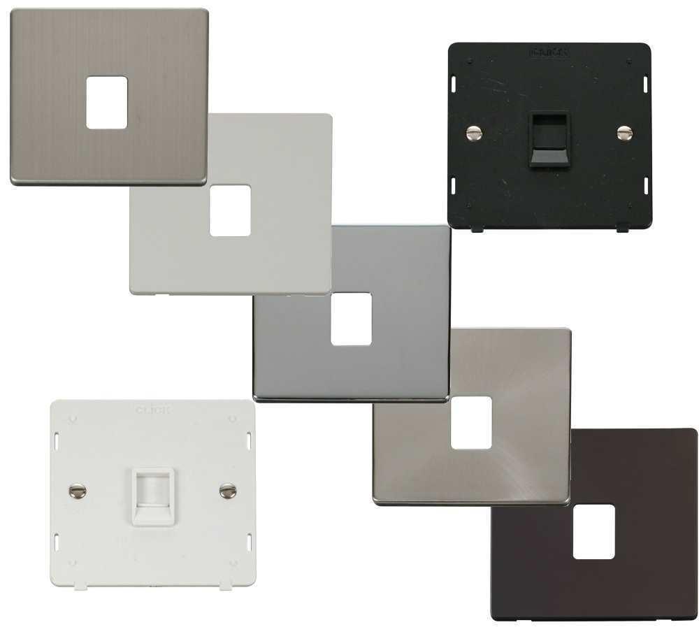Fine Definity Screwless Flatplate Single Rj11 Rj45 Sockets Click Wiring Digital Resources Indicompassionincorg