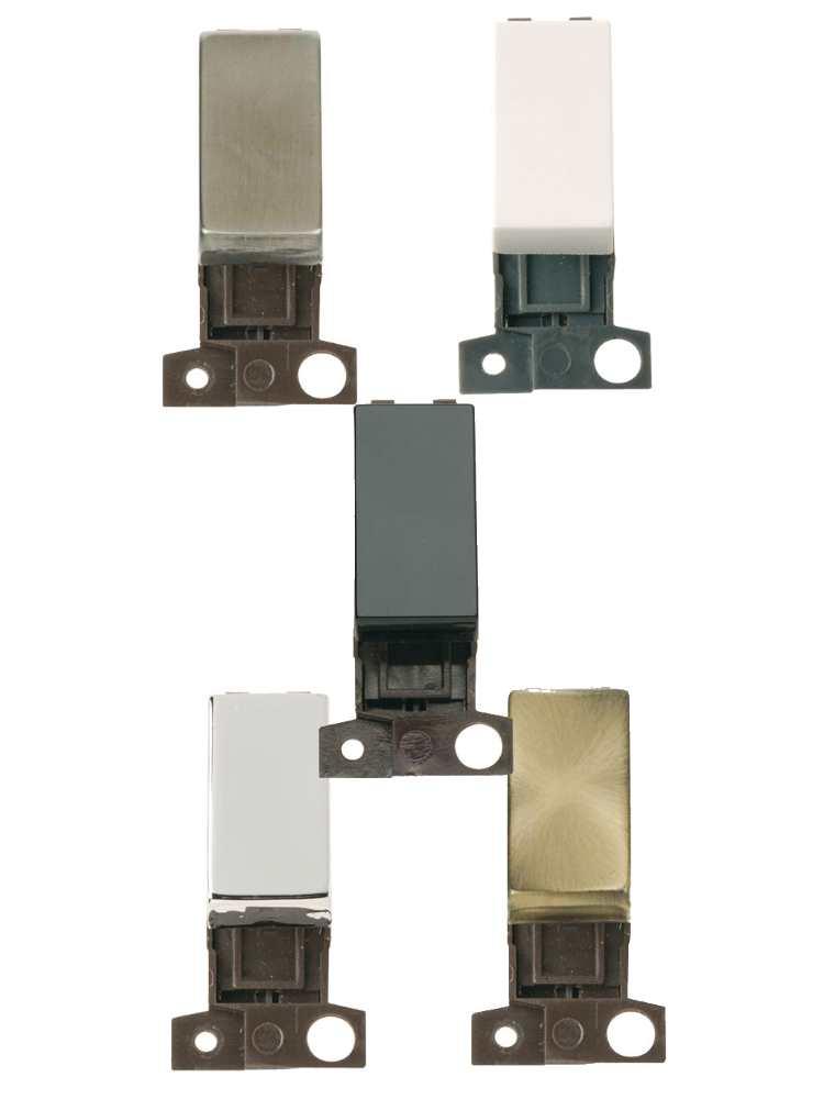 Click MiniGrid 2 Way Retractive Ingot 10A Switch