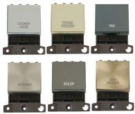Click MiniGrid 20A DP Ingot Switch
