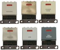Click MiniGrid 20A DP Ingot Switch With Neon