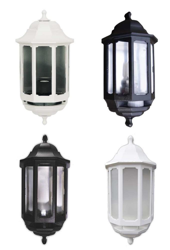 ASD Half Lantern Black or White Standard or PIR