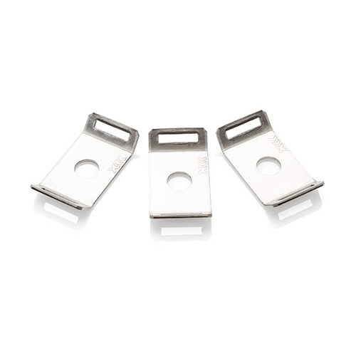 10789548b3b8 Partex Cable Tie Mounting Bases Stainless Steel M6 Pack of 50 | Cable Ties  | Fastlec.co.uk