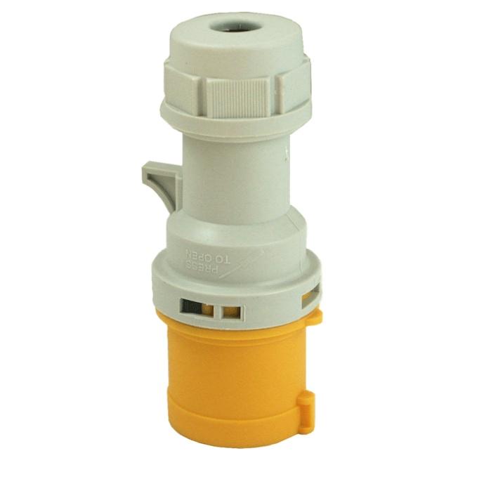 110V 2P + E 16A Industrial Plug IP44