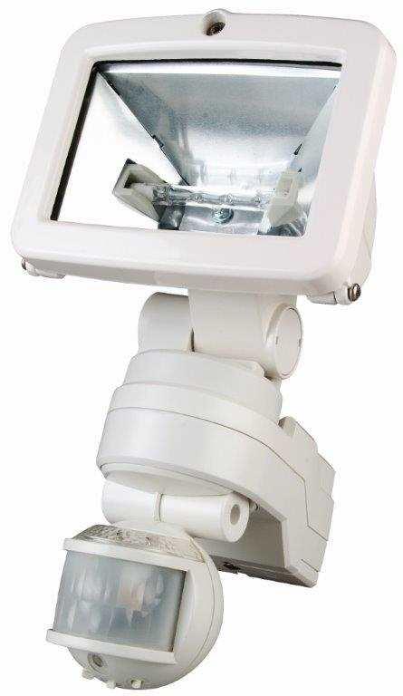 Timeguard MLW150C 150W Night Eye PIR White Halogen Floodlight