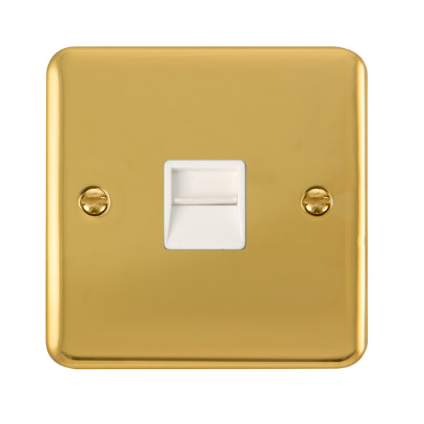 click deco plus single telephone outlet - secondary