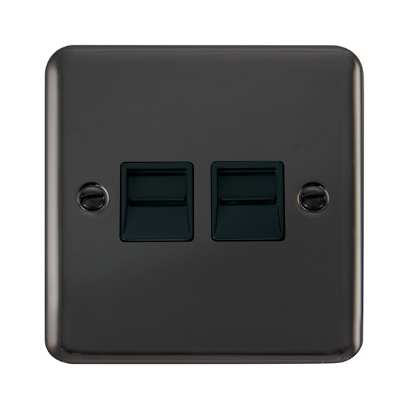 click deco plus twin telephone outlet - secondary