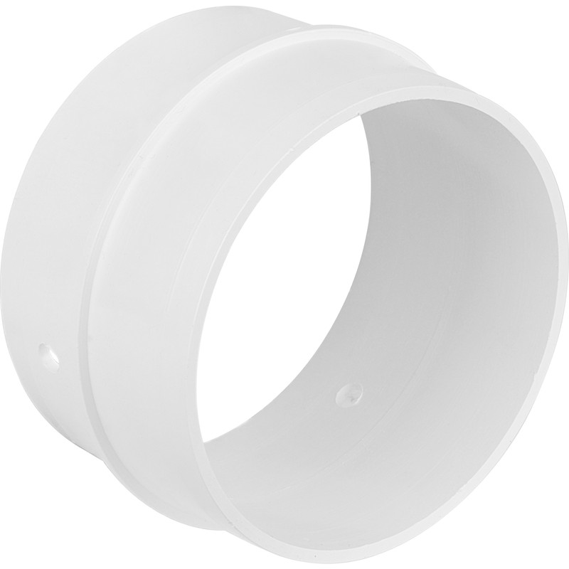 straight connector for 150mm pvc pipe ducting easipipe. Black Bedroom Furniture Sets. Home Design Ideas