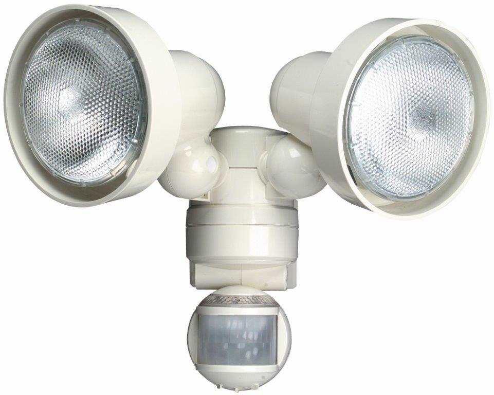 Timeguard MLWTS 150W Night Eye PIR White Twin Spot