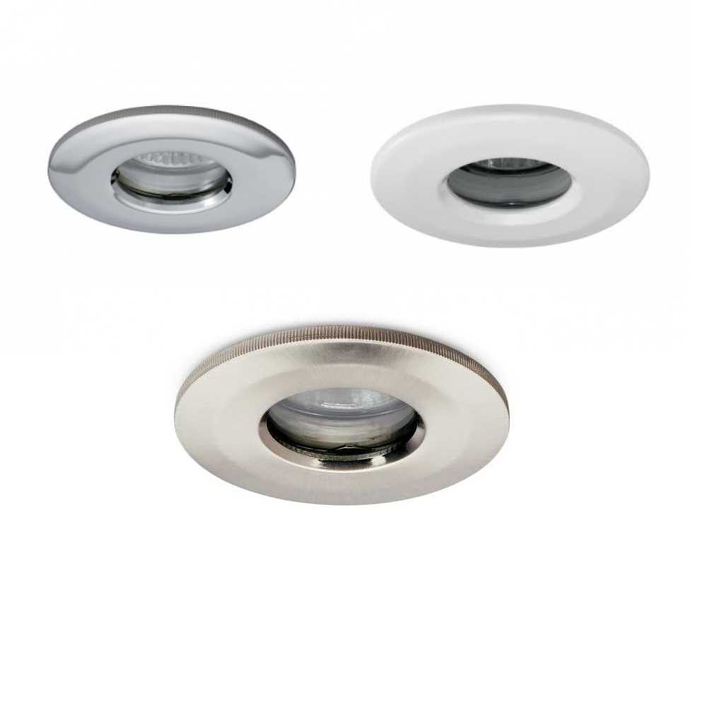 JCC Fire Rated Mains GU10 Recessed Showerlight IP65