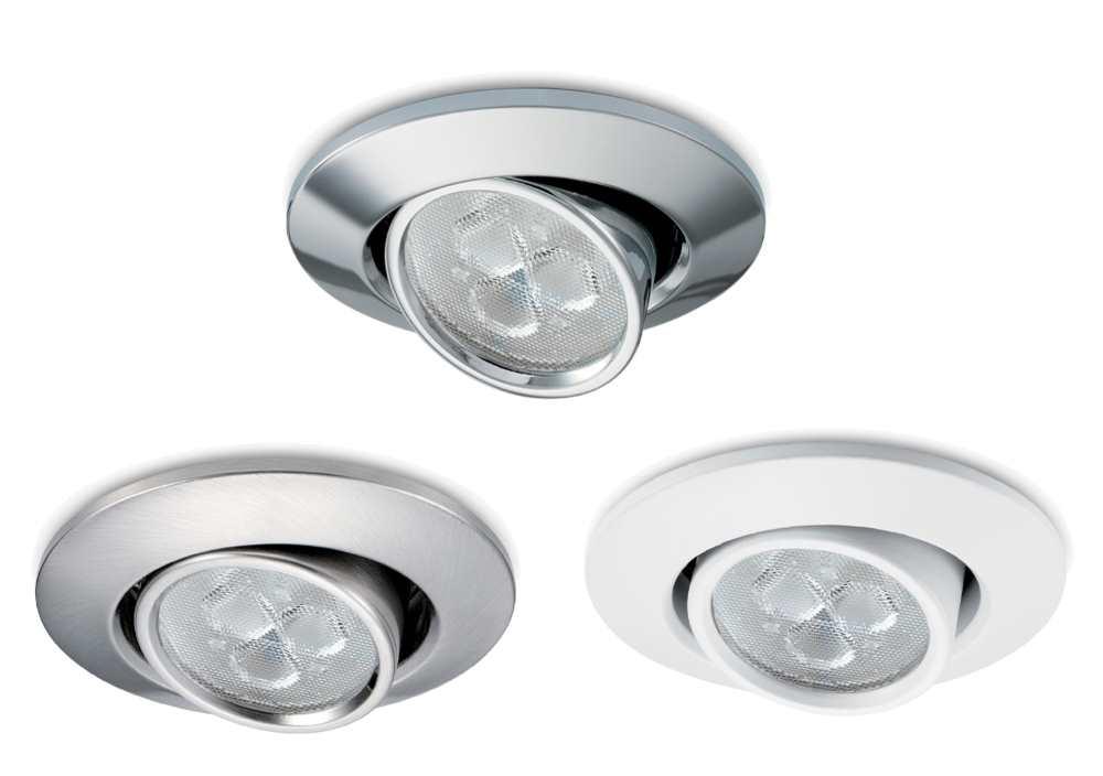 JCC FGLED3 IP20 LED Dimmable Tilt Recessed Downlights