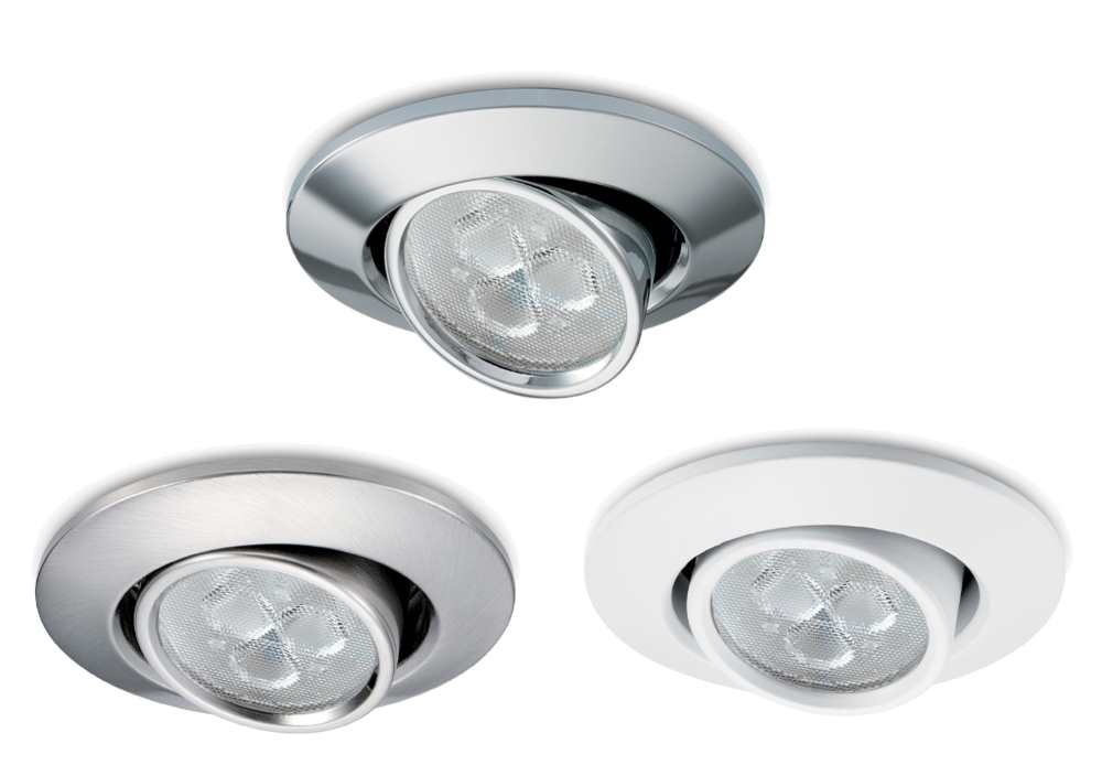JCC FGLED3 IP20 LED Dimmable Tilt Recessed Downlights