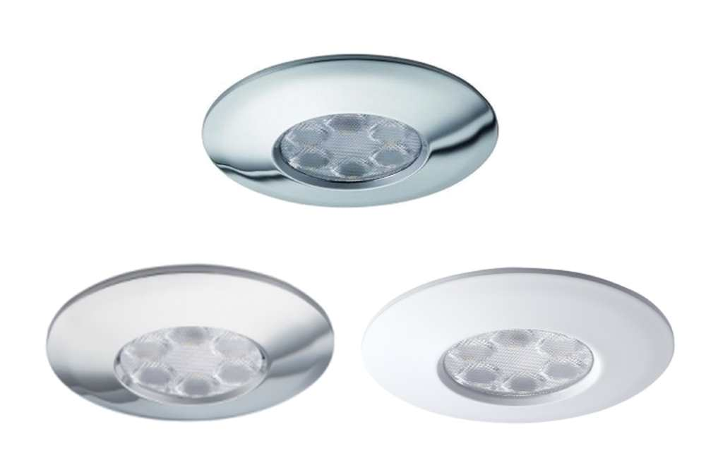 JCC FGLED6 IP65 6W Dimmable LED Emergency Downlights