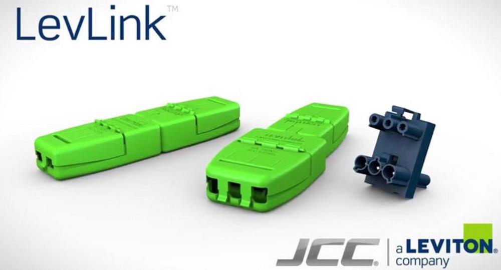 JCC Levlink Plug & Play Fast Lighting Wiring System Tool-Less