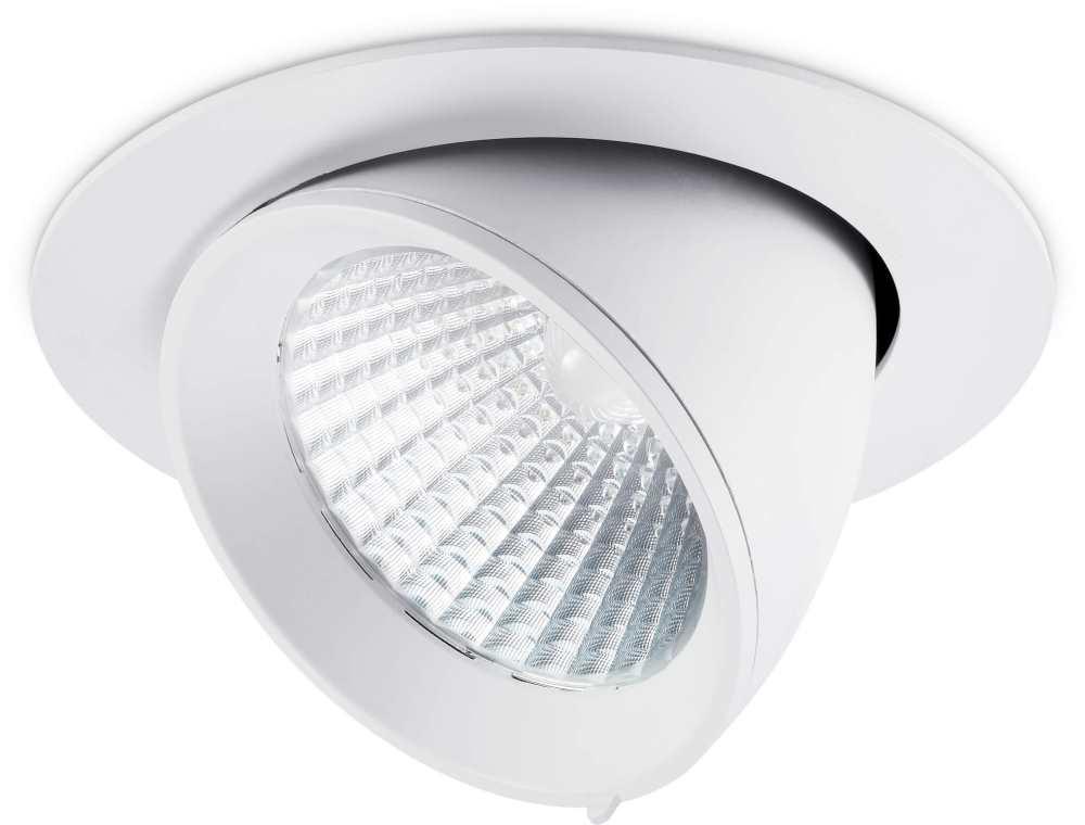 JCC Starscoop LED IP20 Circular Wall Wash 22W 3000K 1600lm White