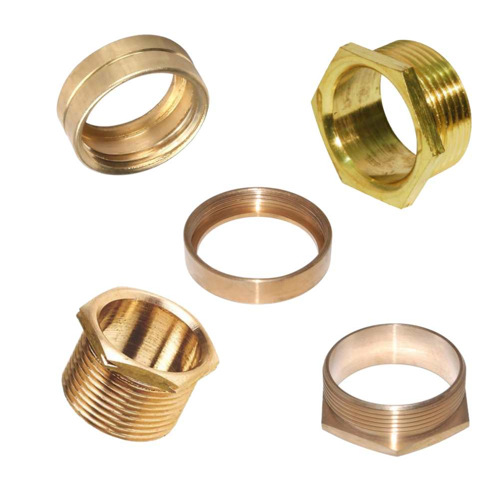 Male And Female Brass Bushes Steel Conduit Accessories