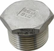 Galvanised Hex Plug 20mm and 25mm