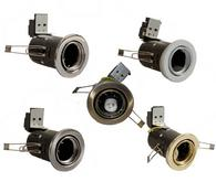 Fire Rated GU10 LED Tilt Downlights Spotlights Ceiling Lights