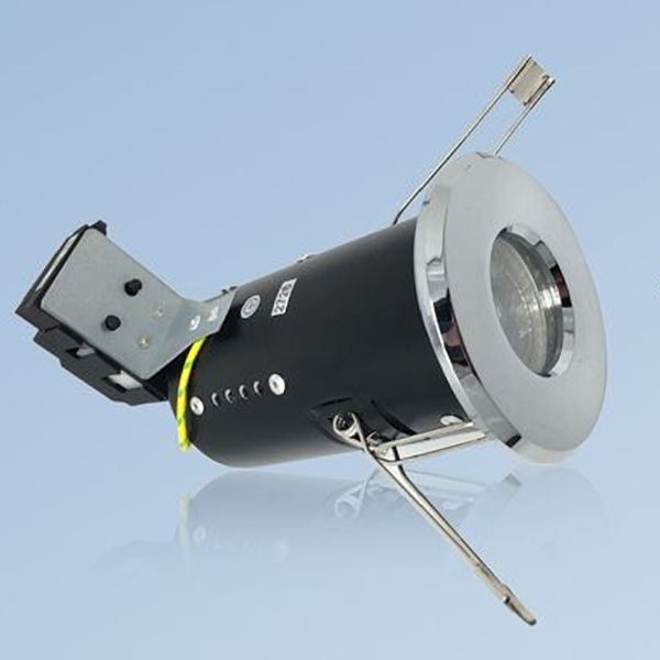 Fire Rated GU10 IP65 Ceiling Spotlights Downlights with LED Bulbs