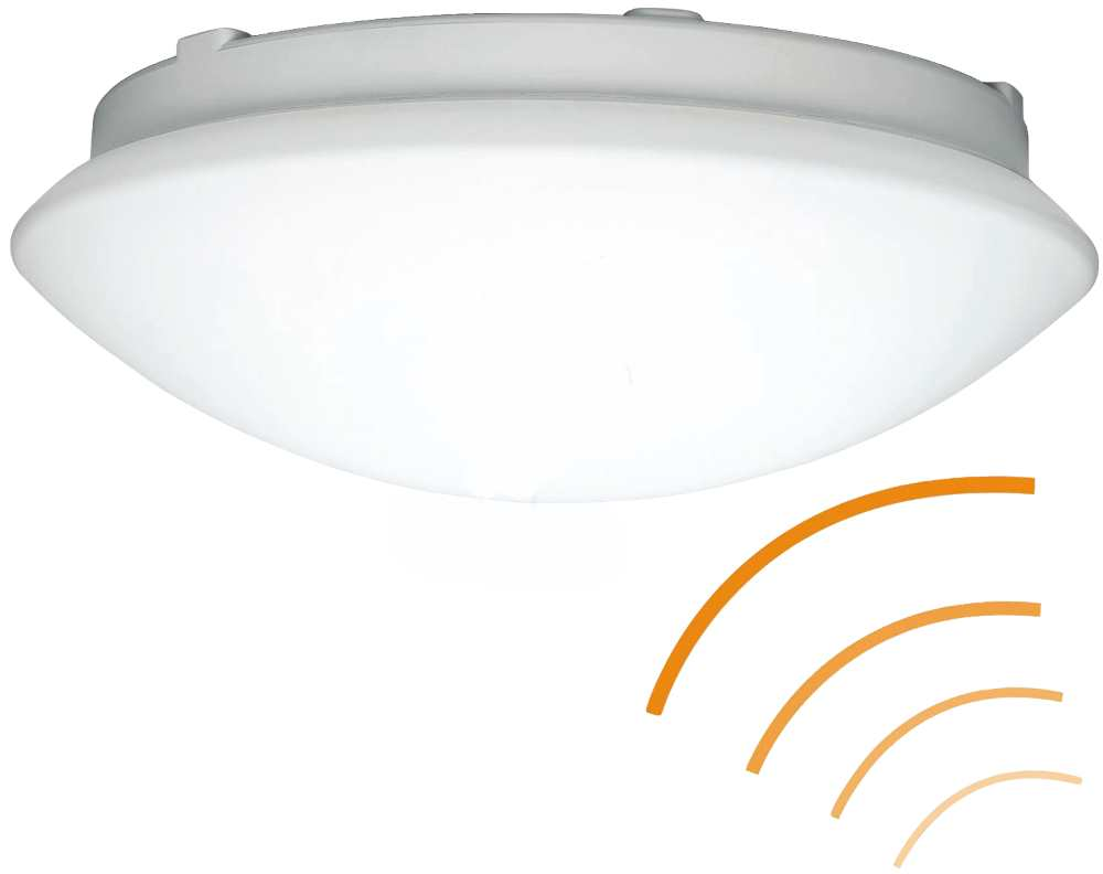 El Nordic Ip44 Mirror With Pull Switch: Steinel RS 16 LED Sensor Switched Indoor Wall Ceiling