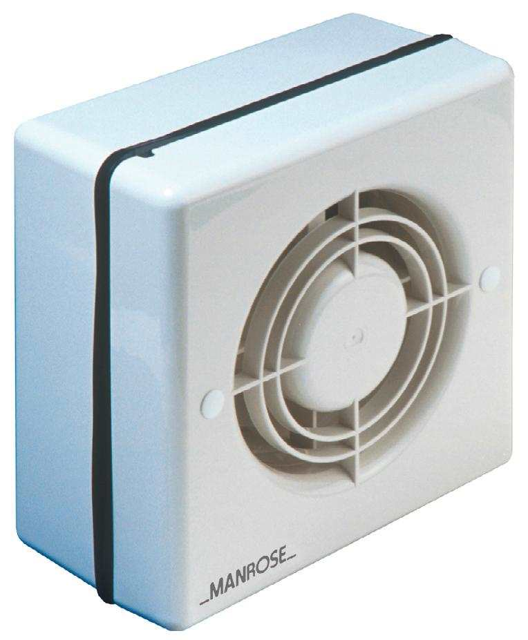 manrose 5 bathroom shower extractor fan window low. Black Bedroom Furniture Sets. Home Design Ideas