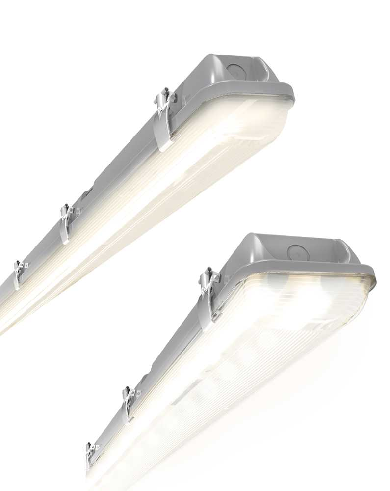 ANSELL Tornado IP65 LED Non-Corrosive MW Sensor and Emergency Fittings