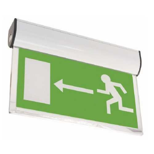 Channel Forest LED Self Test White Exit Sign