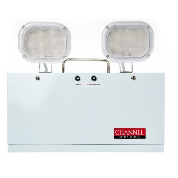 Channel Grove LED Twinspot Emergency Flood Light