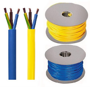Arctic Grade Cable 1.5, 2.5 Blue or Yellow 100 Meter Drums