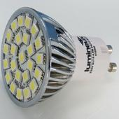 Lumineux High Output 4.5 Watt GU10 LED Lamp Warm White