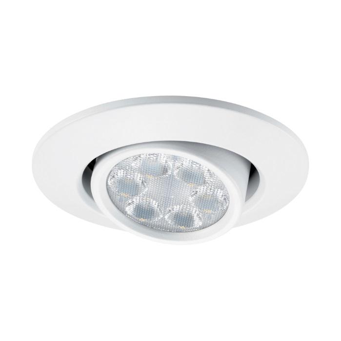 JCC FGLED6 Tilt Dimmable LED White Downlight WW