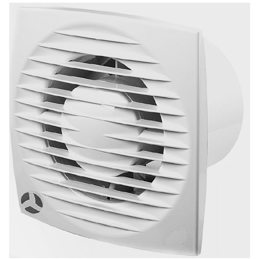 Airflow Aura-eco 100HT 100mm Humidity Timer Fan ...