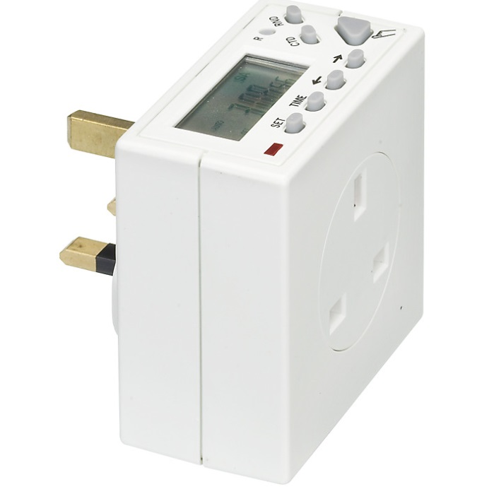 Timeguard TG77 7 Day Compact Electronic Timeswitch