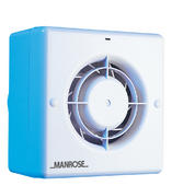 "Manrose CF100 4"" Centrifugal Fan Range c/w Backdraft Shutter"