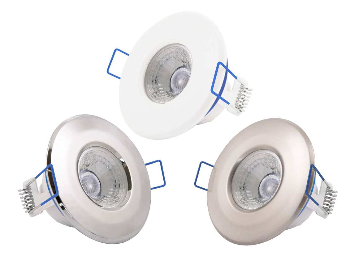 Inceptor Nano Led Fixed Dimmable Recessed Ceiling Downlights Ip65