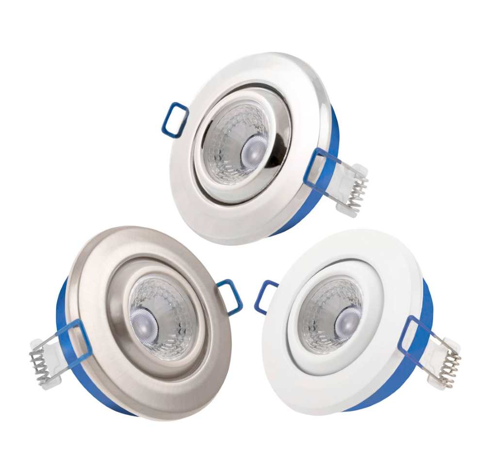 Click Inceptor Nano LED Tilt Dimmable Recessed Downlighters IP54