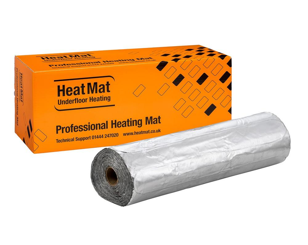 HeatMat Combymat Electric Underlaminate Underfloor Heating Mats