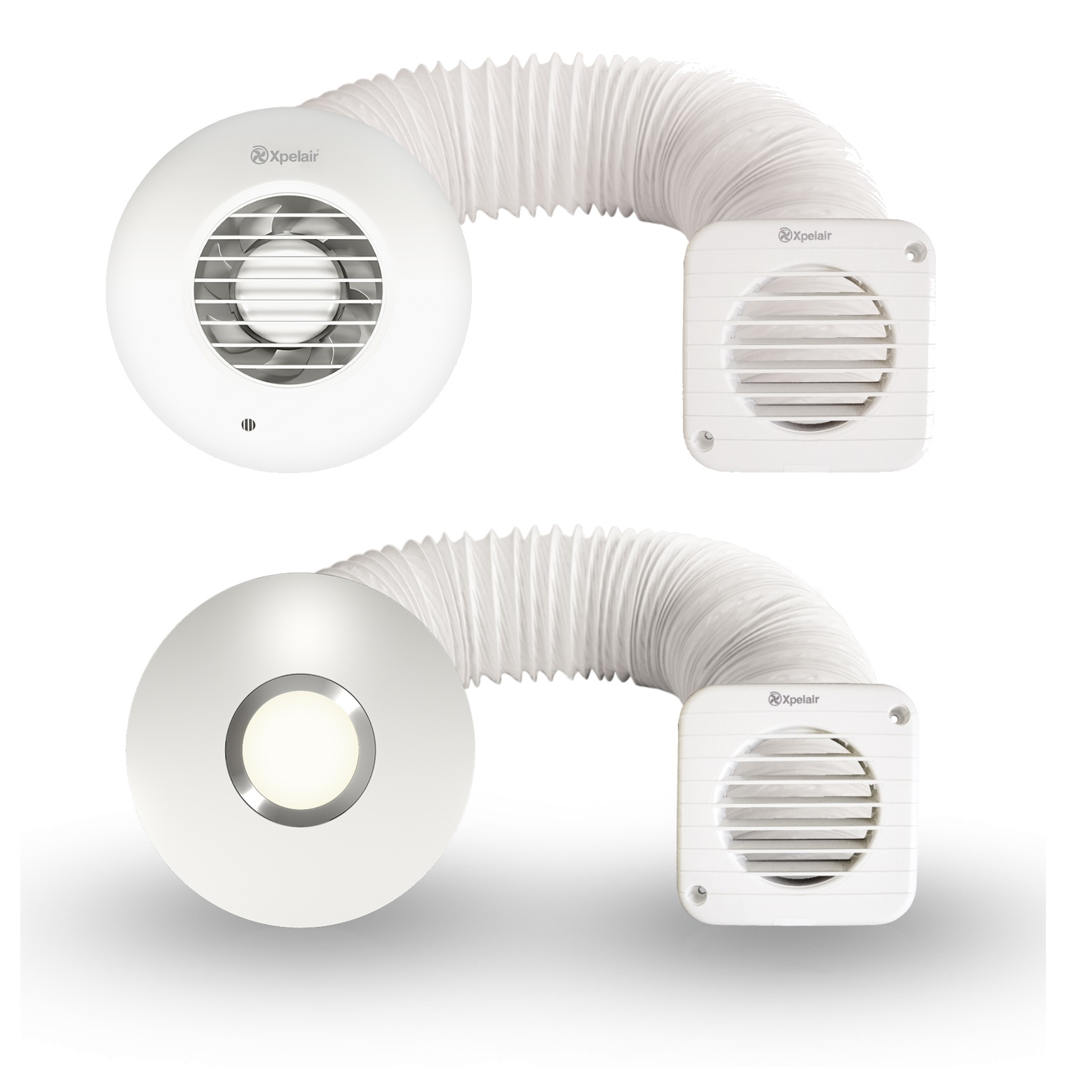 Xpelair Simply Silent Shower Fan Complete Optional Light For Bathroom