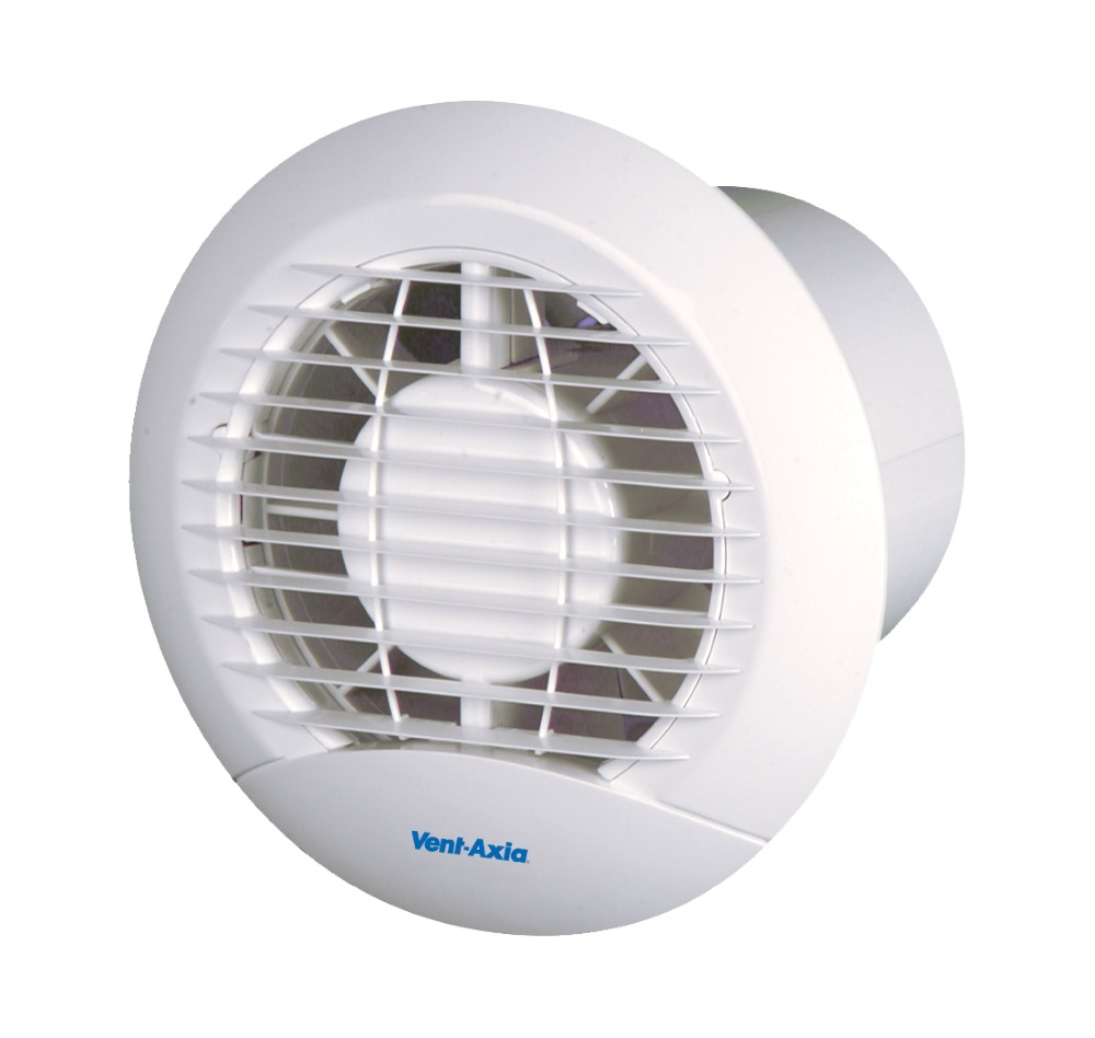 Vent Axia Eclipse Wall Ceiling Round Extractor Fans Vent